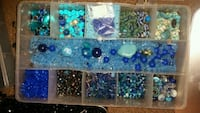 BEADS THOUSANDS OF ASSORTED  3716 km