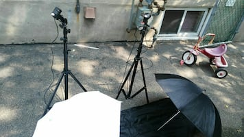 Photo shoot lighting kit