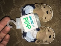 New with tags newborn baby boy shoes slippers so cute  Bunnell, 32110
