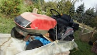 red and black ride-on mower Schomberg, L0G 1T0