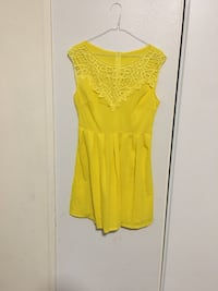 women's yellow spaghetti strap dress El Centro, 92243