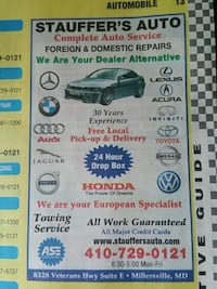 Auto repair and tires