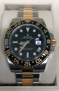 ROLEX GMT MASTER II Black and Gold Two-Tone New!  Costa Mesa, 92627