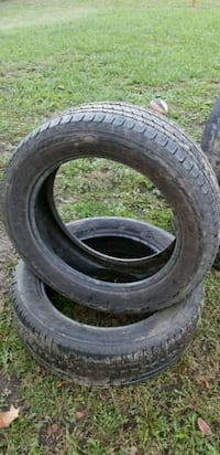 2 Nice 255X45X20 Tires Only 65% Tresd $50 Pair!  Topeka