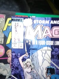 MAGIK comics very good shape i got 1 Hagerstown