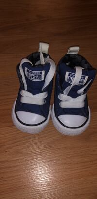 Pair of blue-and-white Converse sneakers Leesburg, 20175