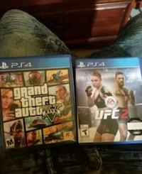 two Sony PS4 game cases 374 mi