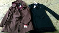 Girl's spring coat and dress. Size 8-10 Mississauga, L4Z 3T8
