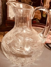 Glass Pitcher College Park