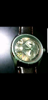 Leather Fossil Automatic Watch