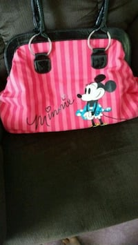 Pink Minnie Mouse purse cost a lot before never us Simcoe, N3Y 5J9
