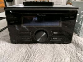 Pioneer Bluetooth double din car stereo