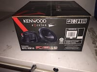 2 Kenwood Excelon KFC-XW10 brand new in the box never used. Top of the line! 300 Watts RMS Brampton, L6P 2L6