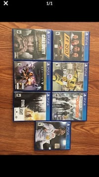 PS4 games Gaithersburg, 20878