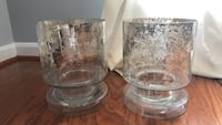 2  large vases from west elm