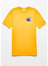 yellow and blue crew neck shirt Houston, 77021