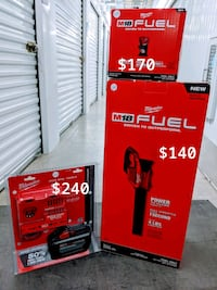 Milwaukee compact router, blower and hd12 with rapid charge ($490 firm