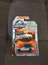 Jurassic World Matchbox Car 93 Jeep Wrangler #9 Charleston, 29414