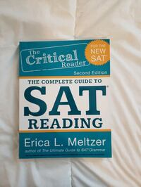 The Complete Guide to the New SAT Reading Metuchen, 08840