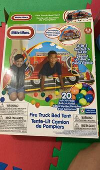 Fire truck Bed Tent