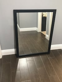 2 new matching OVE bathroom vanity mirrors.   Espresso color.  28 in. wide x 36 in. height. Anaheim, 92805