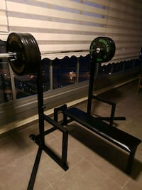 Squat ve bench press istasyonu
