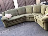 ***PENDING***Cute double recline sectional Bloomingdale
