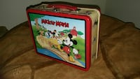 Vintage Mickey Mouse Tin Lunchbox Lincoln, 68502