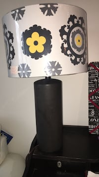 Black and white table lamp Wichita, 67202