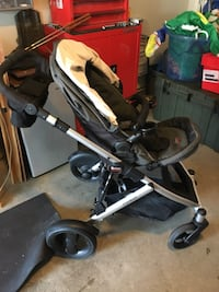 baby's black and gray stroller Clarksville, 37042