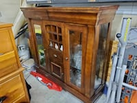 Wood Kitchen/dining hutch Lakemoor, 60051