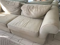 Used Almost New Rooms To Go Grey Couch For Sale In Miami