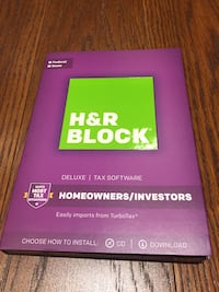NEW/UNOPENED H&R Block 2017 Federal & State Tax Software Metairie, 70003
