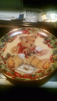 Franklin Mint Teddy Bear Collector Plate Centreville, 20120