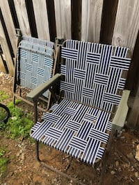 4 outdoor folding chairs Dumfries, 22026