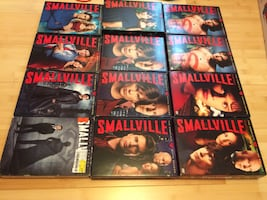 Smallville the complete dvd series plus extra copy of seasons 1 + 5