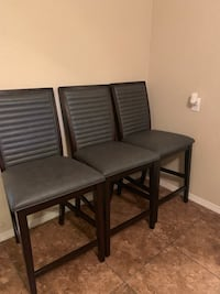 3 Bar height chairs Albuquerque, 87112