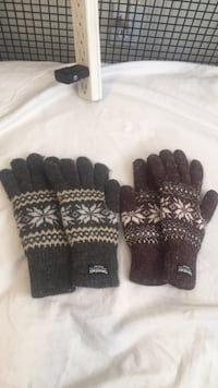 Winter gloves. 5$ for one $10 for both Richmond Hill, L4S 2T6