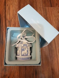 "Wedgwood ""2010 Baby's 1st Christmas"" Ornament"