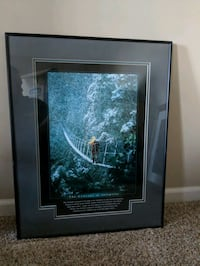 Metal framed/mated fully paded tempered glass