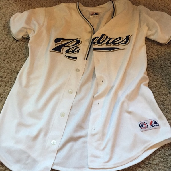 promo code 2a10b 469e8 Padres girl's extra large jersey