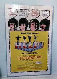Beatles Help! Poster Baltimore, 21224