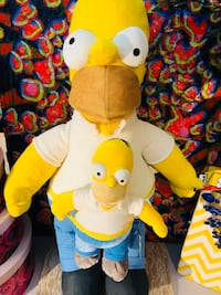 """The Simpson's"" Official Plush Toy!  Seven Corners"