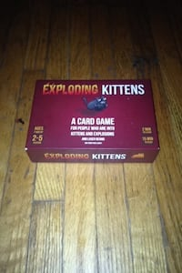 Exploding kittens card game Hamilton, L9C 4T2