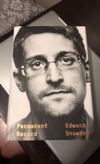 Edward Snowden Permanent Record book Chicago, 60647