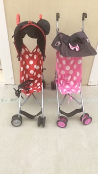 baby's red and black stroller Westminster, 92683