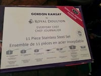 Gordon Ramsay Royal Doulton 11pc pot set Toronto, M1R 4K3
