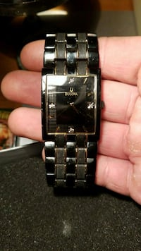 Bulova gts black/gold  Winnipeg, R2L 1X2
