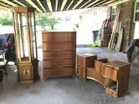 Lot of project antique furniture pieces (only 2 pieces left) La Fayette, 30728
