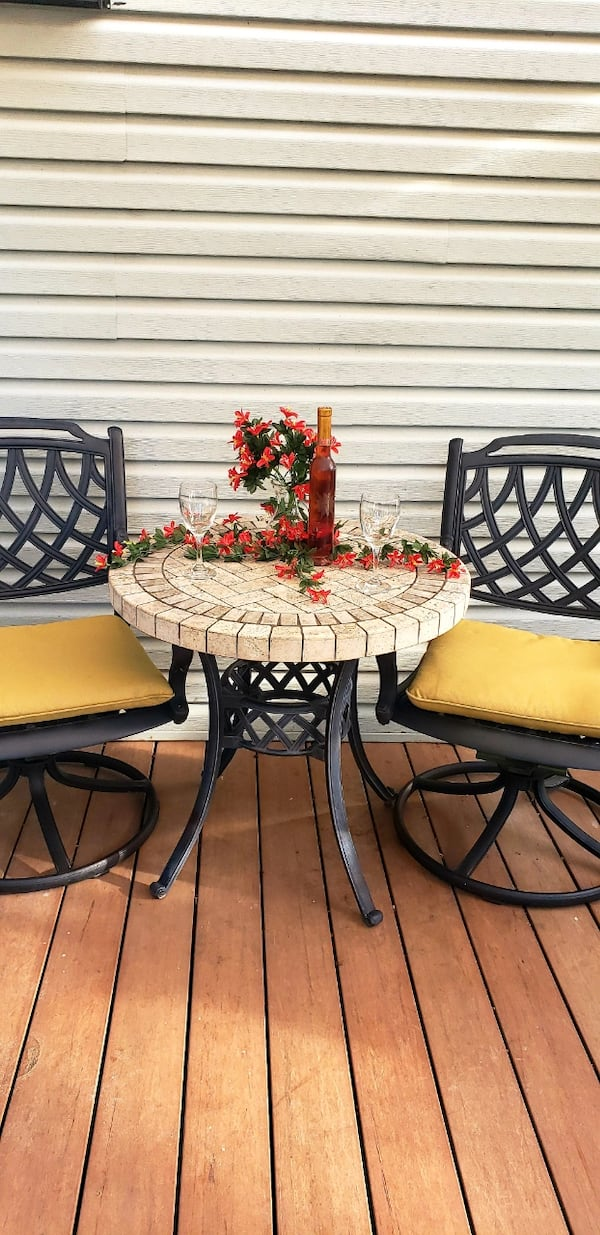 Sold Patio set in Glendale Heights - letgo